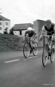 Peter Crinnion (Bray Wheelers), Navan Rd TT, Blanchardstown Bridge, 1958